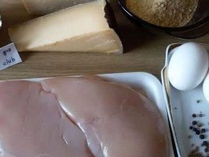 Курица в корочке из сухарей и сыра, с горчицей и соевым соусом - 0