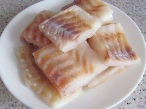 Сочная рыба в луковом кляре - 0