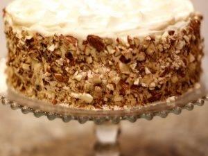Торт «Морковный» со сметанным кремом - 2