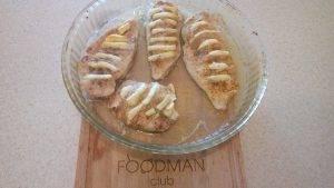 Запеченое куриное филе с адыгейским сыром в специях - 5