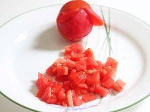 Томатный суп с рыбой и топинамбуром - 0