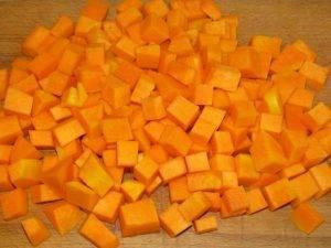Лазанья с молодым сыром и соусом из тыквы - 1