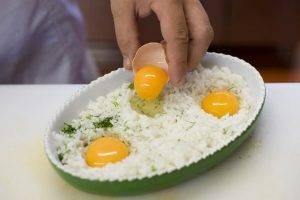 Рис, запеченный с яйцами - 0