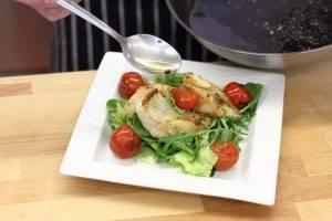 Салат из жареного окуня - 2