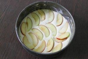 Шарлотка с яблоками и апельсинами - 1