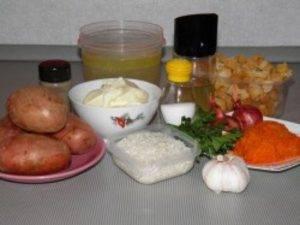 Сырно-сливочный суп в мультиварке - 0