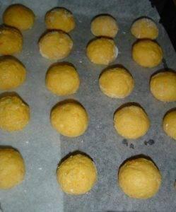 Тыквенное печенье с кокосовой стружкой - 5
