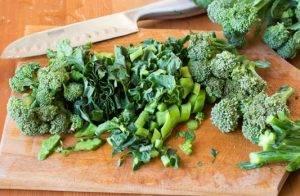 Суп из зеленой чечевицы с вермишелью и брокколи - 1