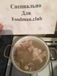 Легкий суп из свинины - 7