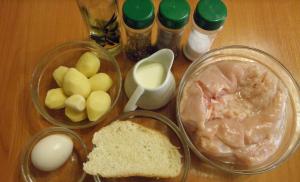 Куриное суфле с картофелем и прованскими травами в духовке - 0