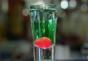 Дынный новогодний коктейль - 1