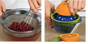 Безалкогольный апельсиново-клюквенный пунш - 0