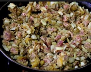 Говядина с миндалем по-африкански - 1