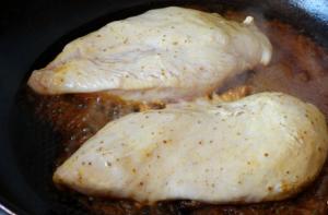 Куриное филе в кефире с карри - 1