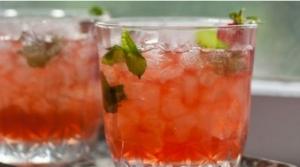 Безалкогольный клубничный джулеп - 1
