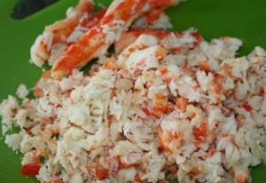 Спайси суши с мясом краба - 0