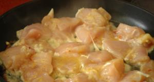Куриные ломтики в горчице с хреном и в яйце - 1