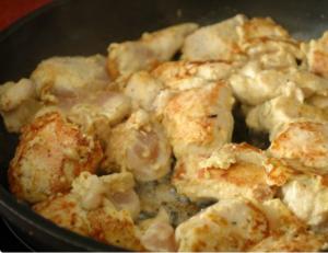 Куриные ломтики в горчице с хреном и в яйце - 2