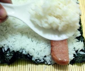 Ленивые роллы с колбасой - 1