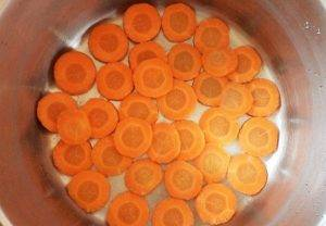 Морковное пюре для грудничков - 0