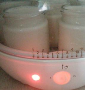 Домашняя сметана в йогуртнице - 1