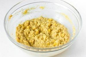 Кукурузные оладушки с сыром - 1