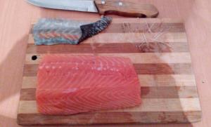 Царский лосось к новогоднему столу - 1