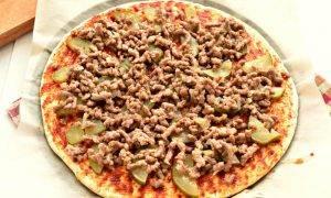 Пицца с фаршем - 1