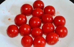 Фаршированные помидоры с козьим сыром и базиликом - 0