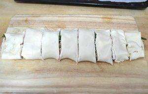 Рулетики со спаржей и козьим сыром - 1