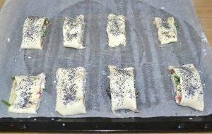 Рулетики со спаржей и козьим сыром - 2