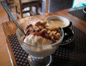 Десерт шоколадно-ореховый - 1