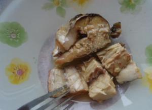 Скандинавский салат из скумбрии с вишней - 0