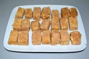 Жареный сыр Тофу - 1