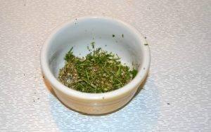 Картофельные башенки с сыром и ароматными травами в духовке - 0