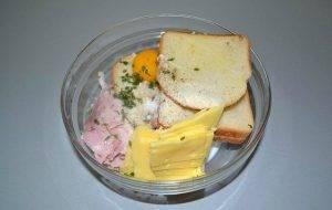 Фрикадельки из хлеба с ветчиной и сыром Эмменталь - 0