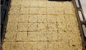 Шведские хлебцы с семенами - 1