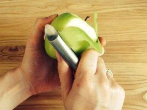 Яблочный крамбл с корицей и медом - 0