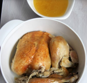 Шкмерули - запеченная курица по-грузински - 1
