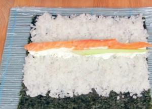 Суши в стиле