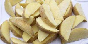 Картофельные дольки в мундире - 0