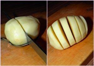 Простая праздничная картошка в духовке - 0