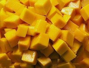 Канапе из семги с манго - 0