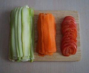 Красивая овощная запеканка - 0