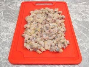 Печеный картофель с селедочным соусом - 0
