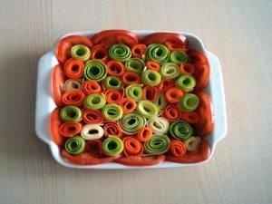 Красивая овощная запеканка - 1
