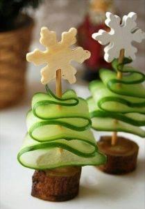Съедобная елка: оригинальные закуски на Новогодний стол - 1