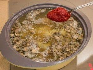 Суп с уткой, рисом и грибами - 6