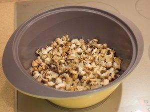 Суп с уткой, рисом и грибами - 1