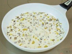 Котлеты, запеченные в духовке под грибным соусом - 5